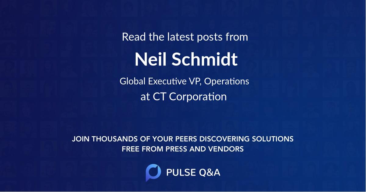 Neil Schmidt