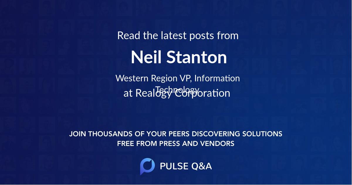 Neil Stanton