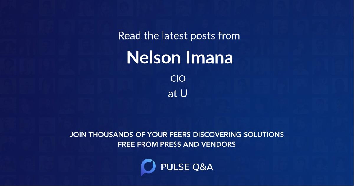 Nelson Imana