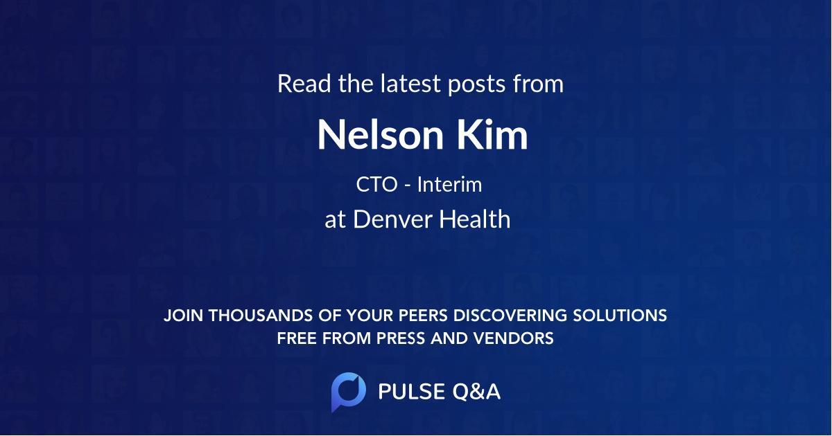 Nelson Kim