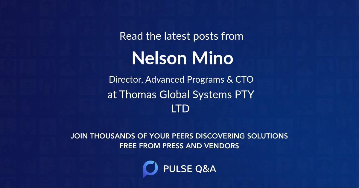 Nelson Mino