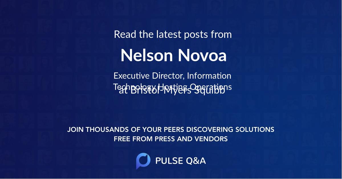 Nelson Novoa