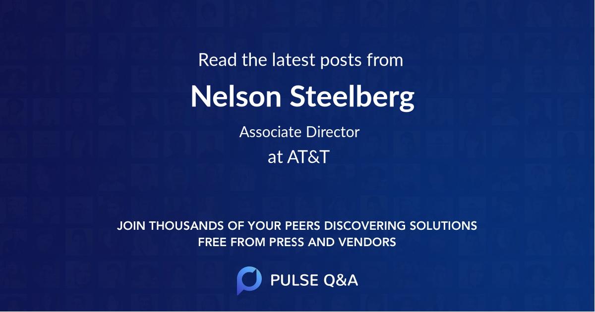 Nelson Steelberg