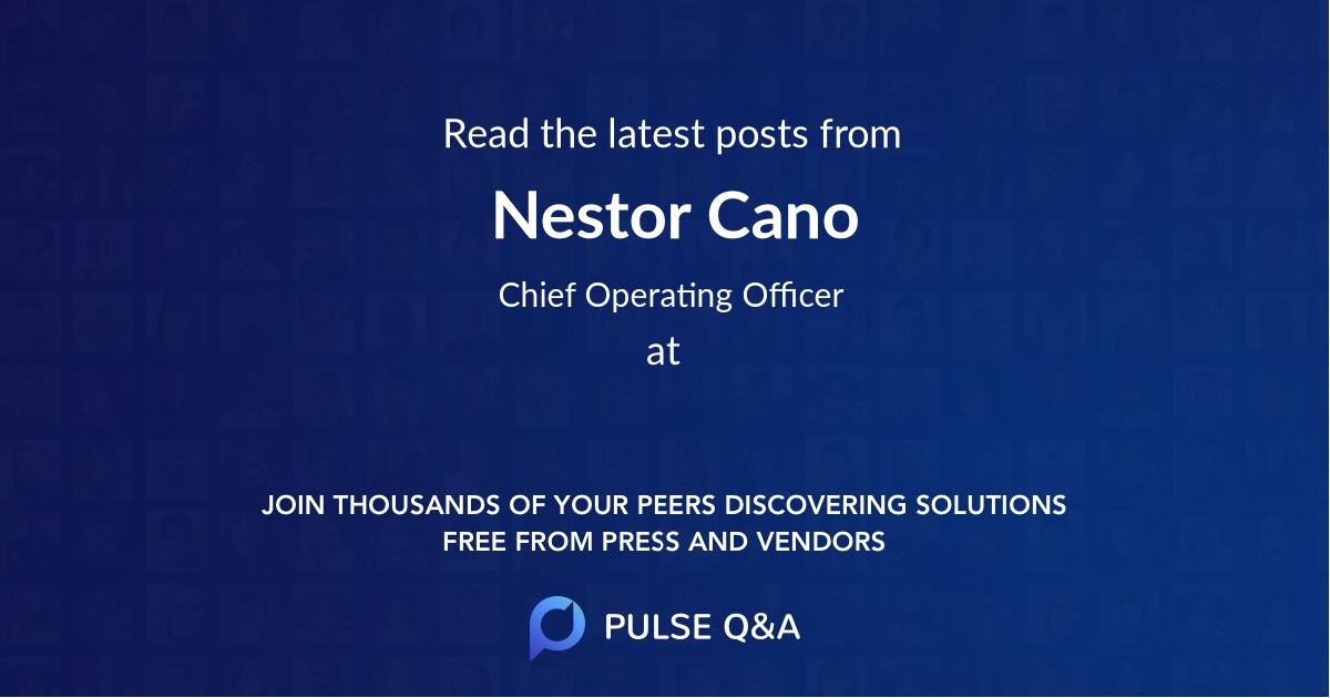 Nestor Cano