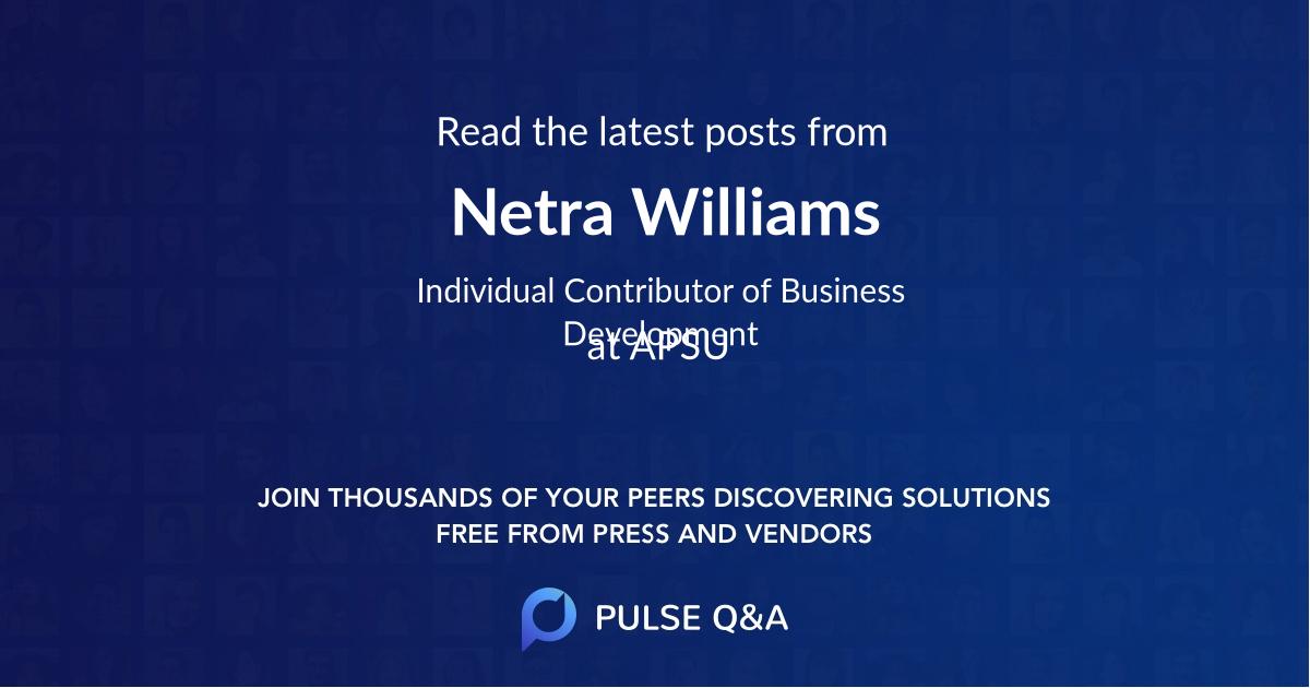 Netra Williams
