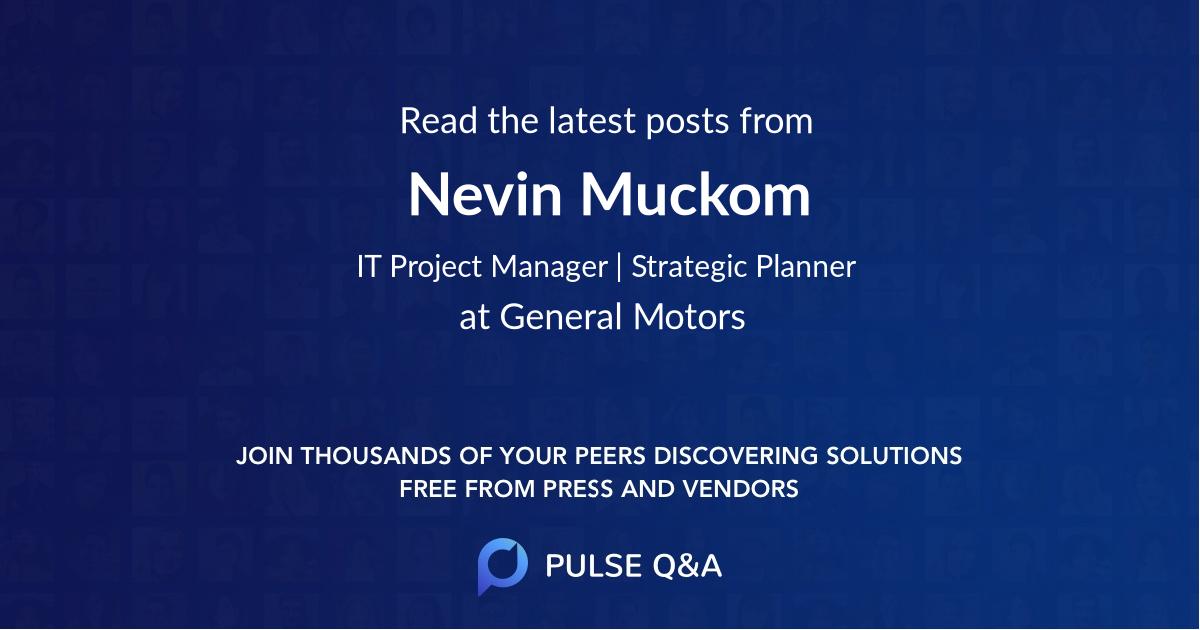 Nevin Muckom