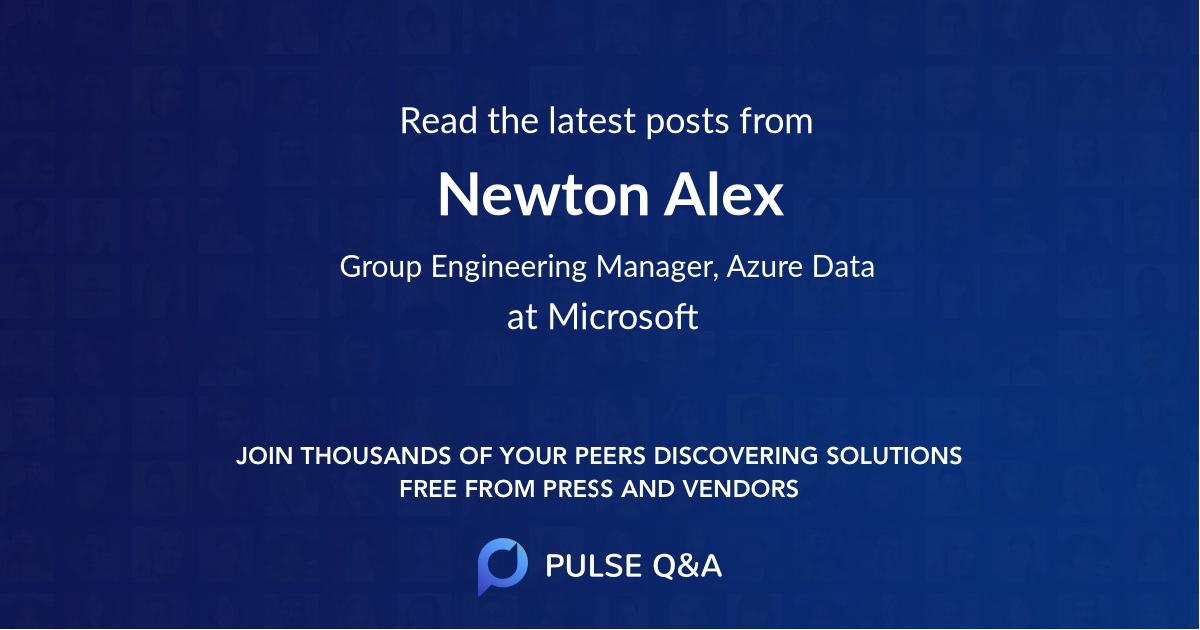 Newton Alex