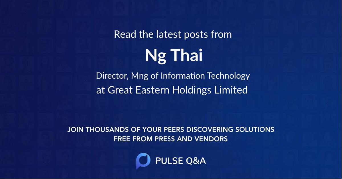 Ng Thai