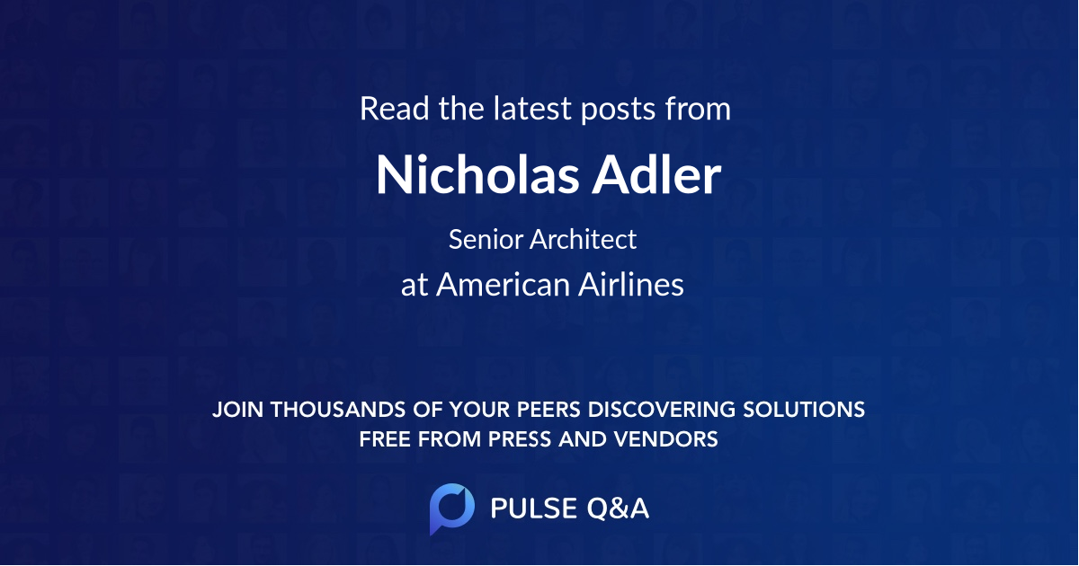 Nicholas Adler