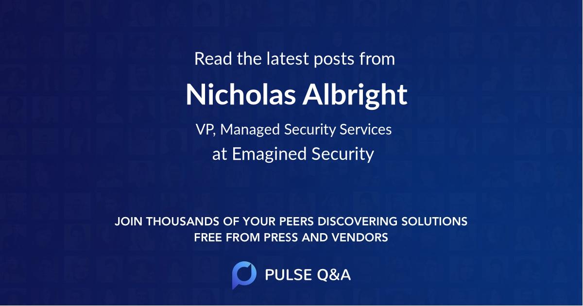Nicholas Albright