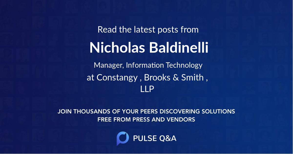 Nicholas Baldinelli