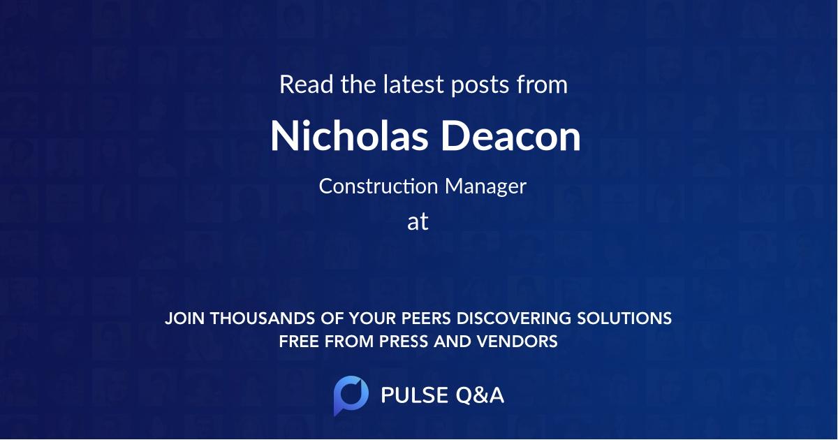 Nicholas Deacon
