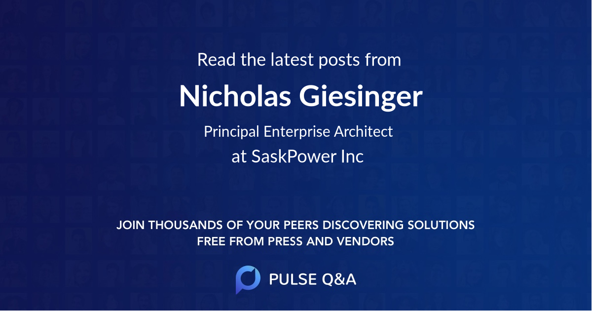 Nicholas Giesinger
