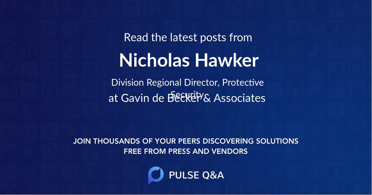 Nicholas Hawker