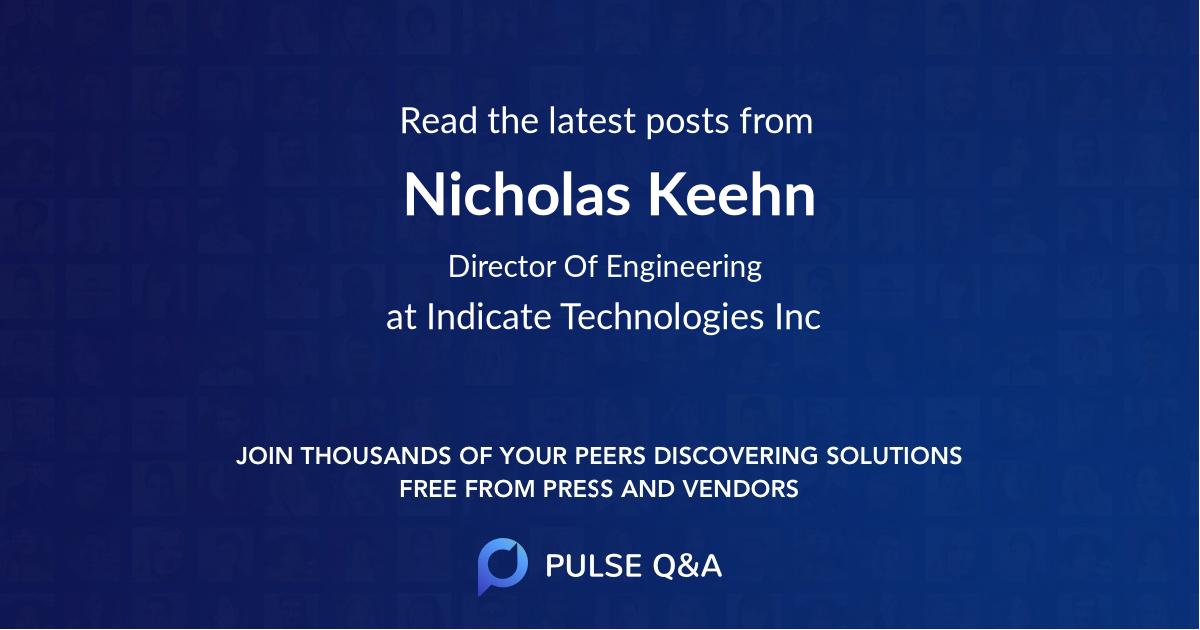 Nicholas Keehn