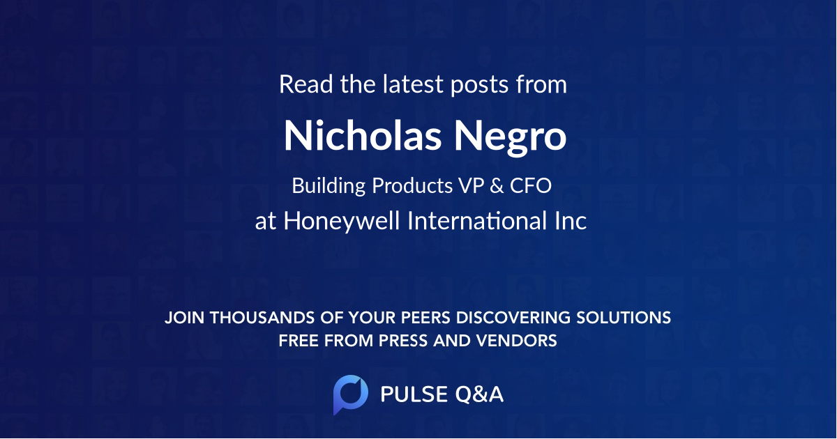 Nicholas Negro