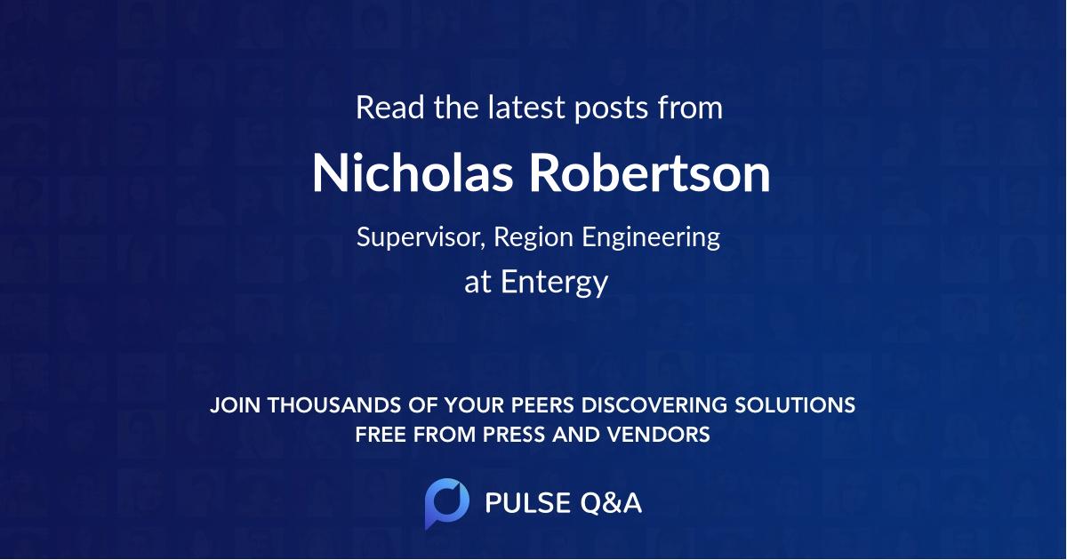 Nicholas Robertson