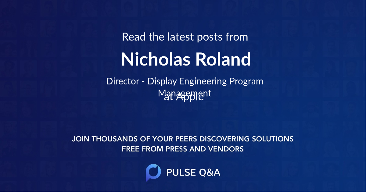 Nicholas Roland