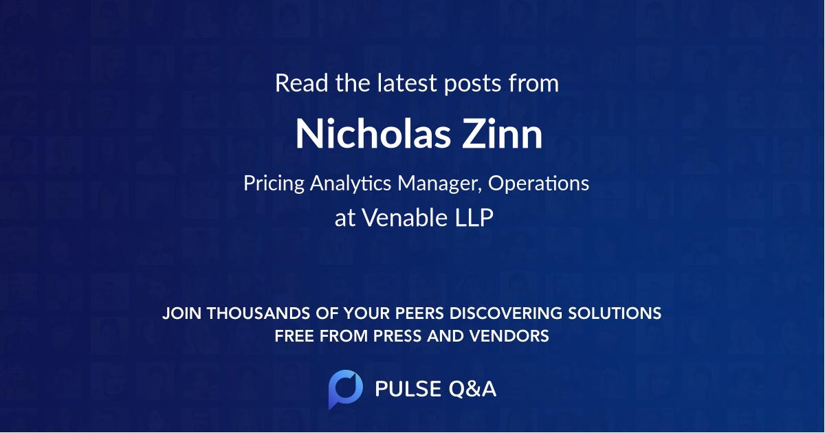 Nicholas Zinn