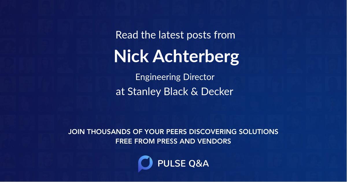 Nick Achterberg