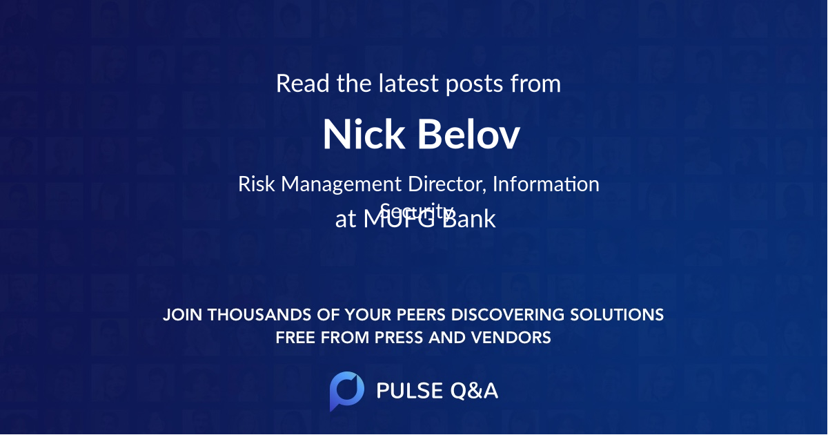 Nick Belov
