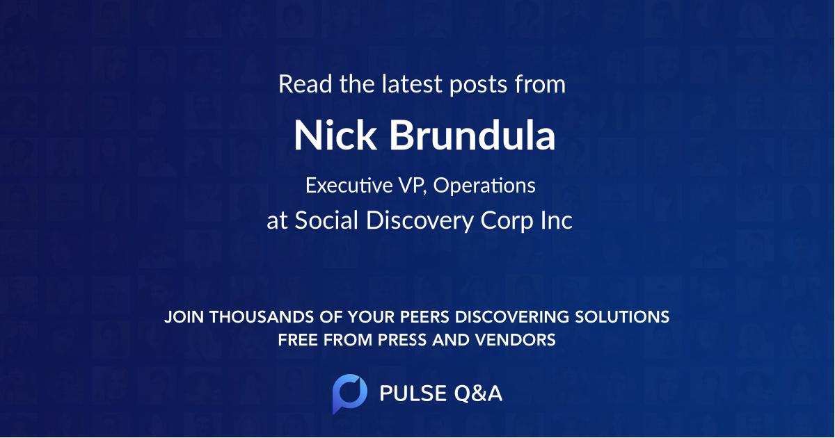 Nick Brundula