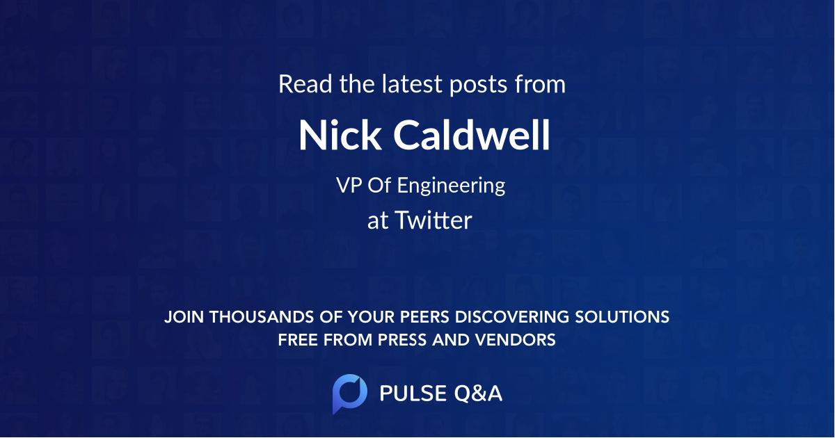 Nick Caldwell