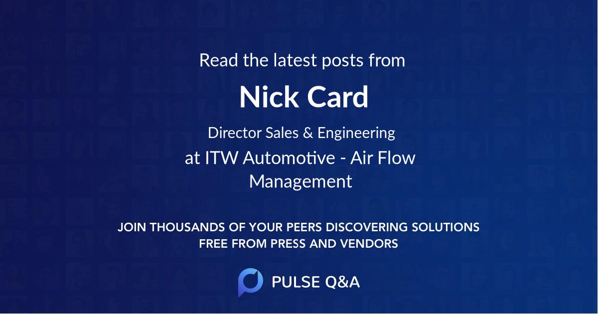 Nick Card