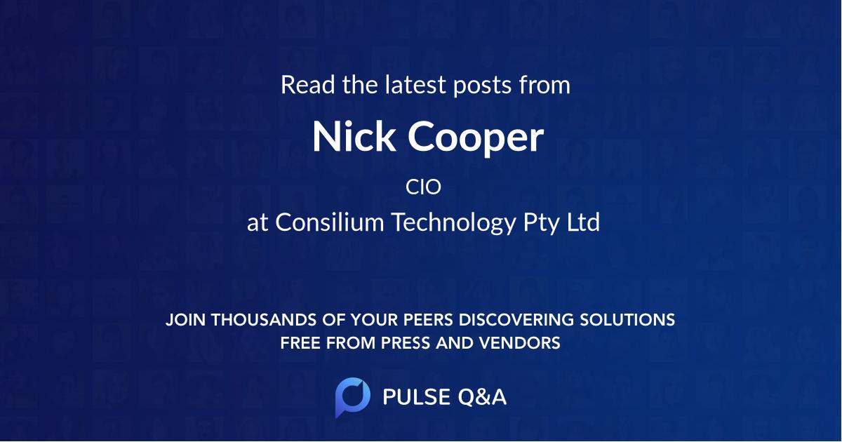 Nick Cooper