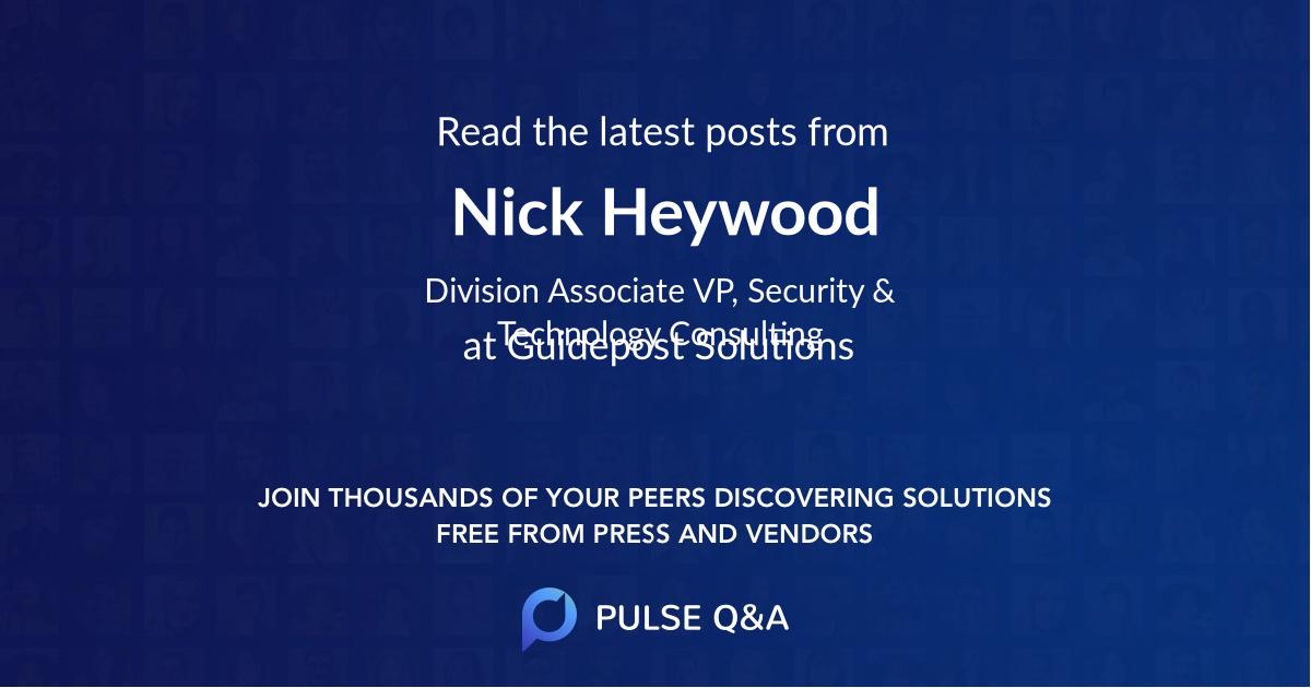Nick Heywood