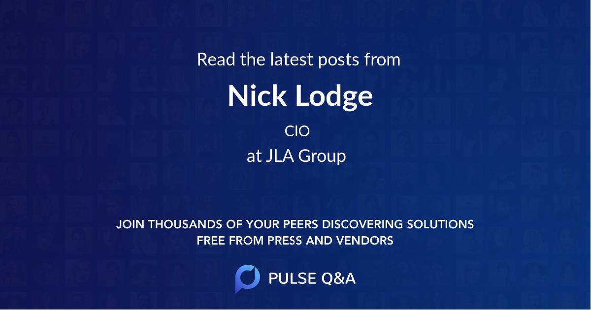 Nick Lodge