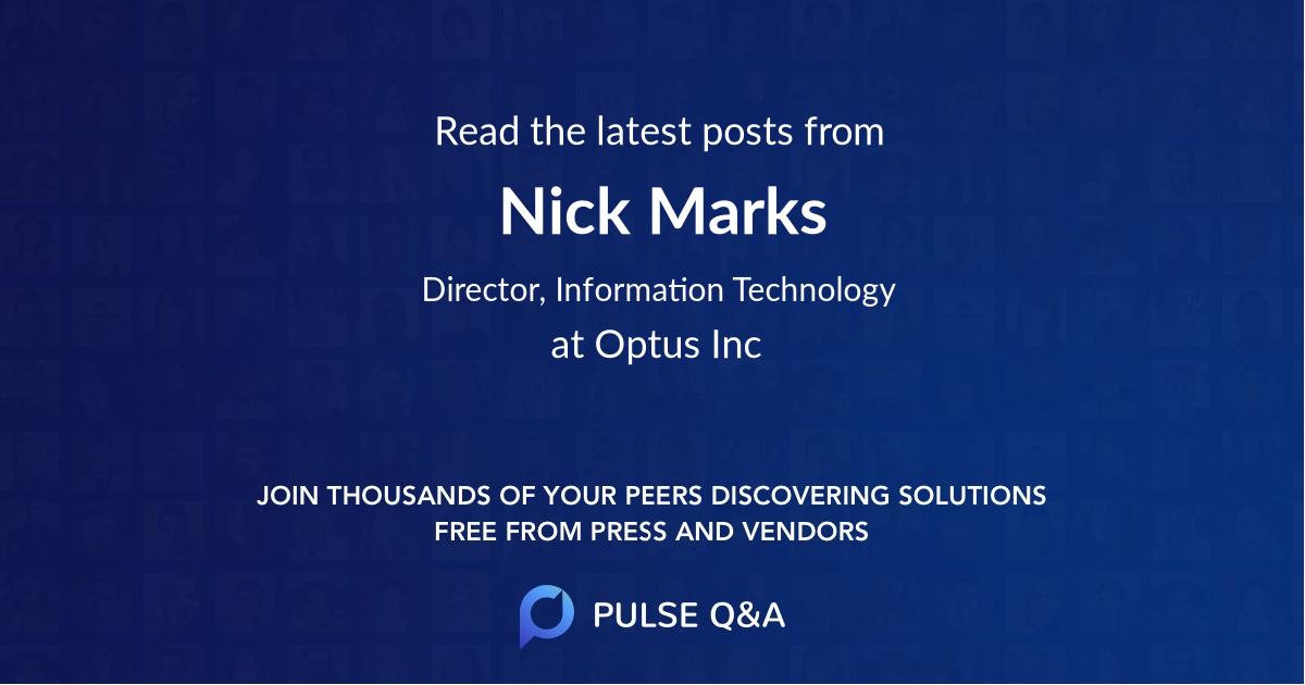 Nick Marks
