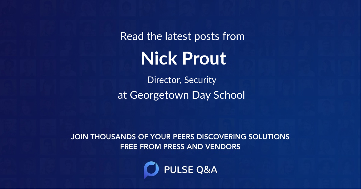 Nick Prout