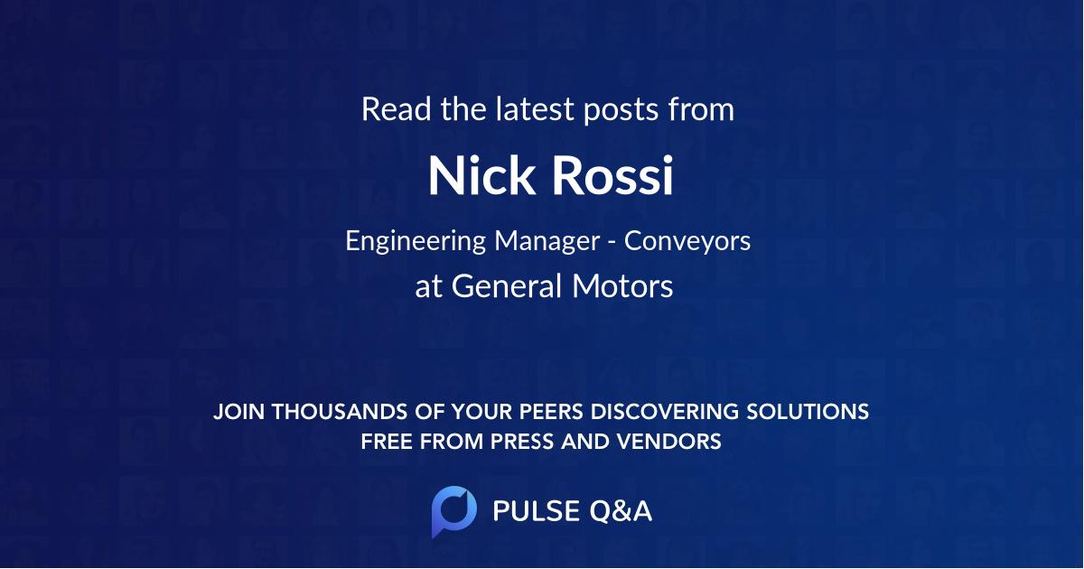 Nick Rossi