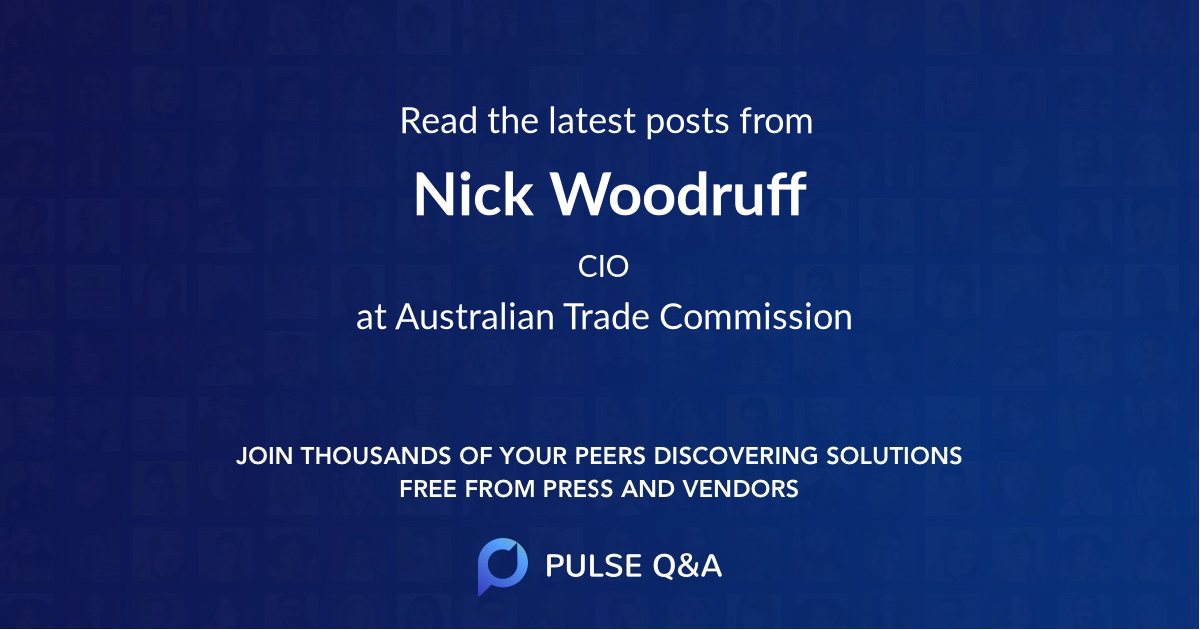 Nick Woodruff