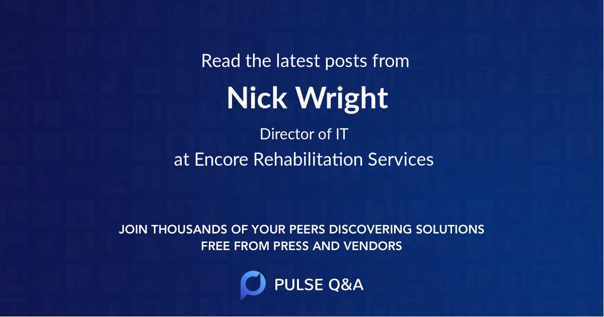Nick Wright