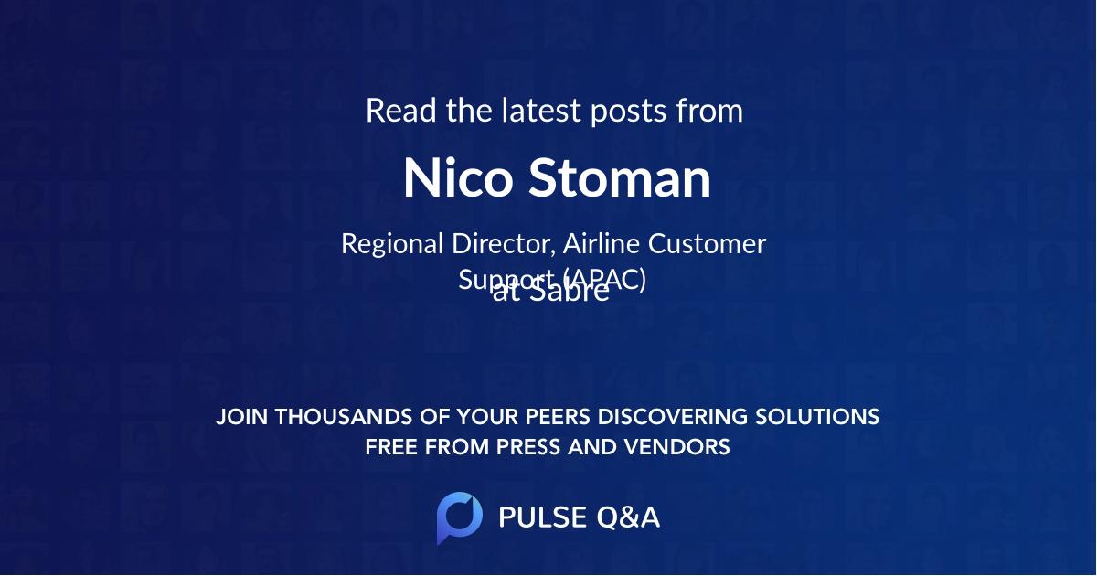 Nico Stoman