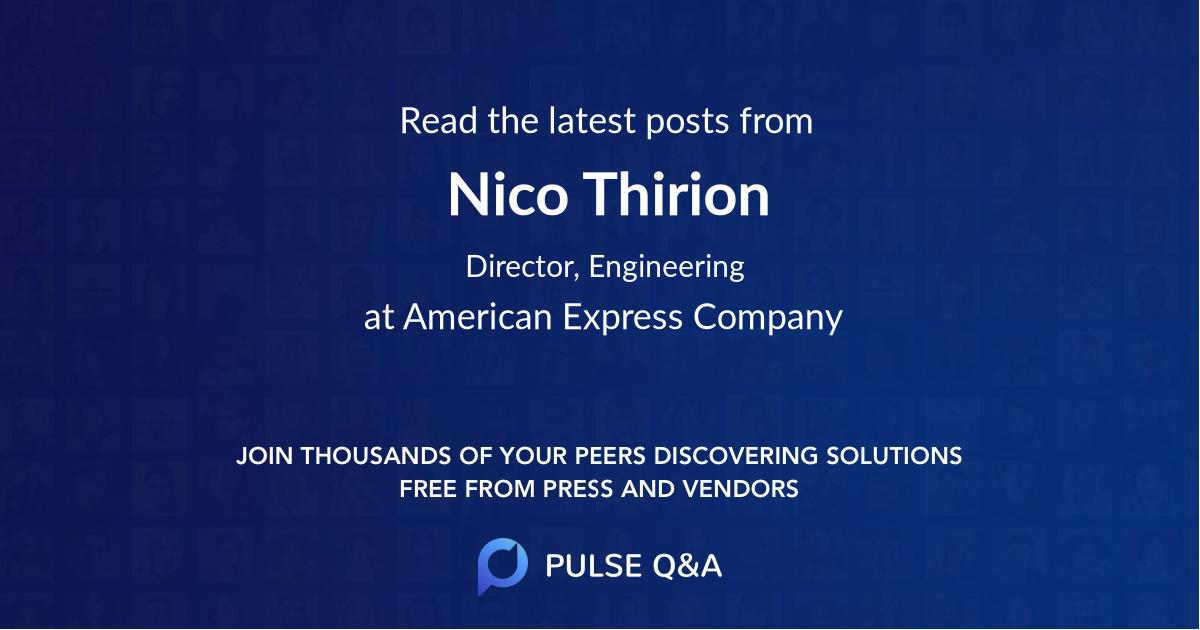 Nico Thirion