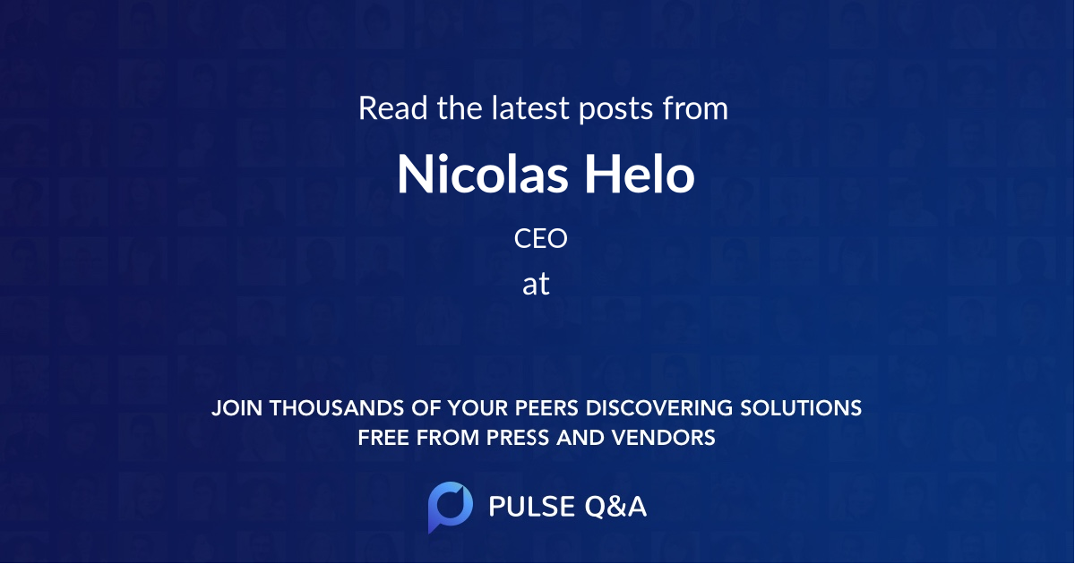 Nicolas Helo