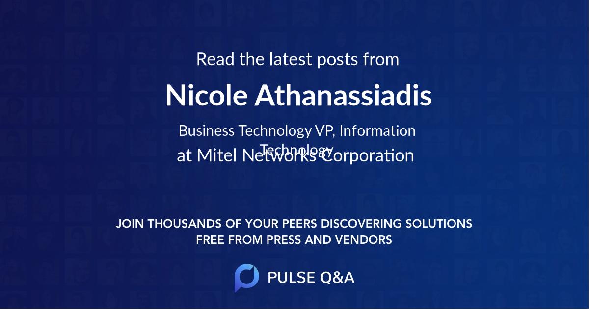 Nicole Athanassiadis