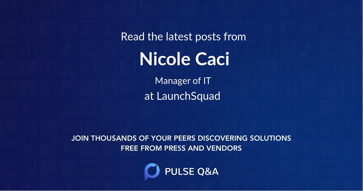 Nicole Caci