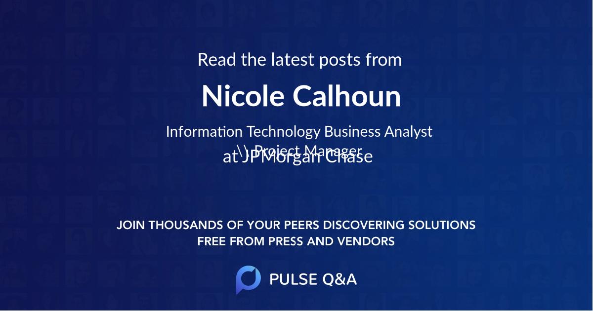 Nicole Calhoun