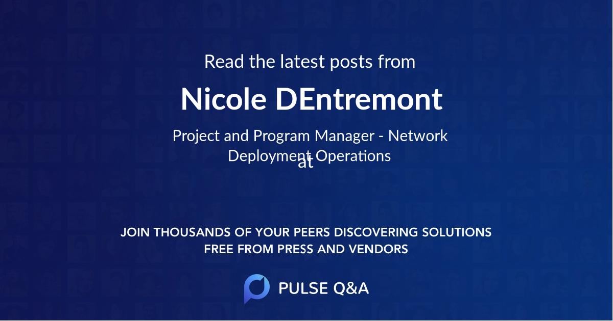 Nicole DEntremont