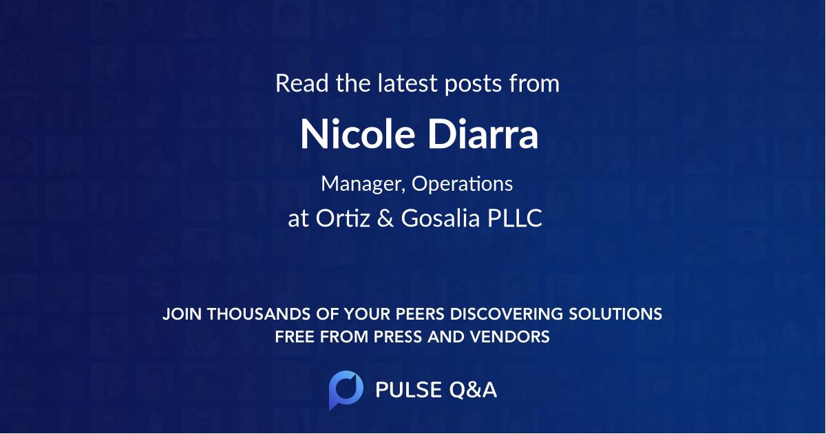 Nicole Diarra