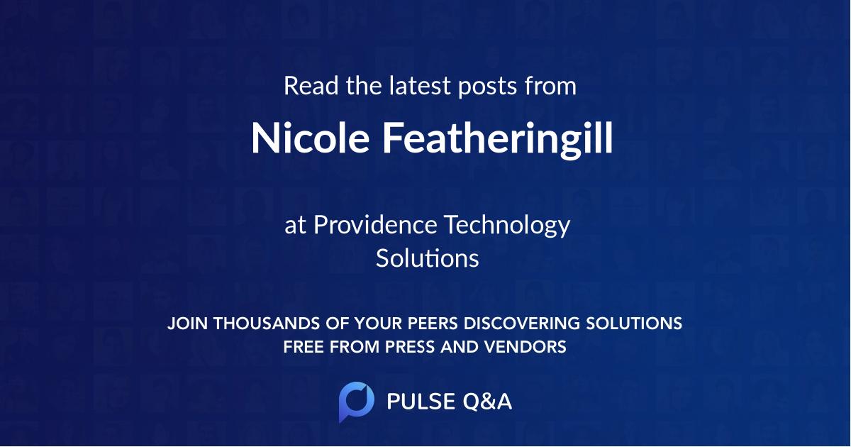 Nicole Featheringill