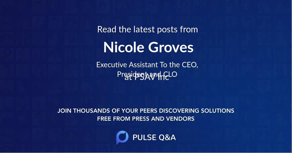 Nicole Groves
