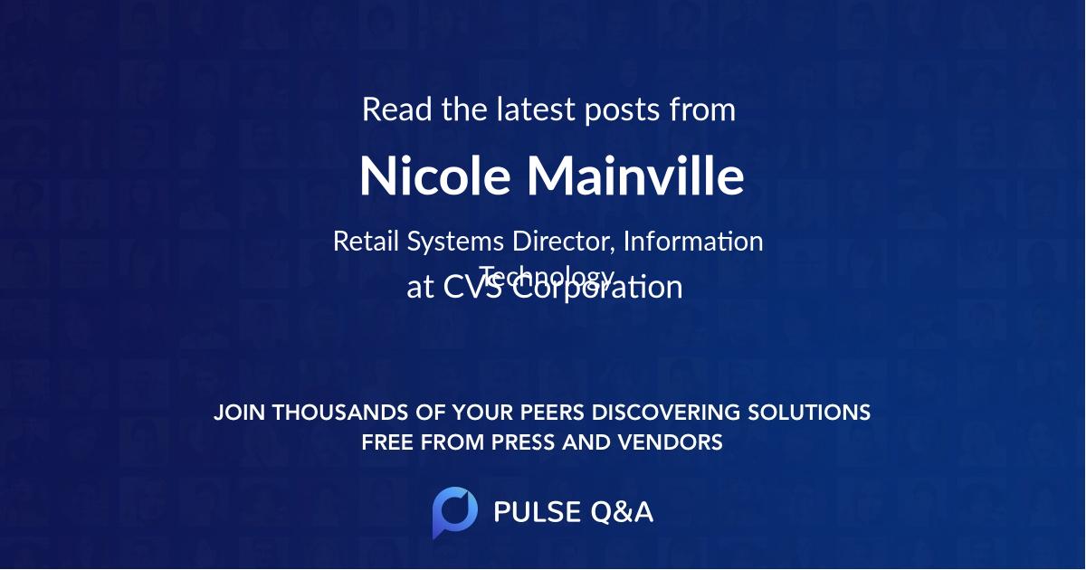 Nicole Mainville
