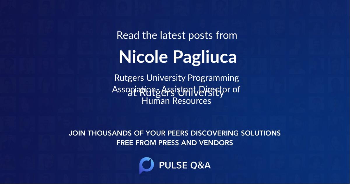 Nicole Pagliuca