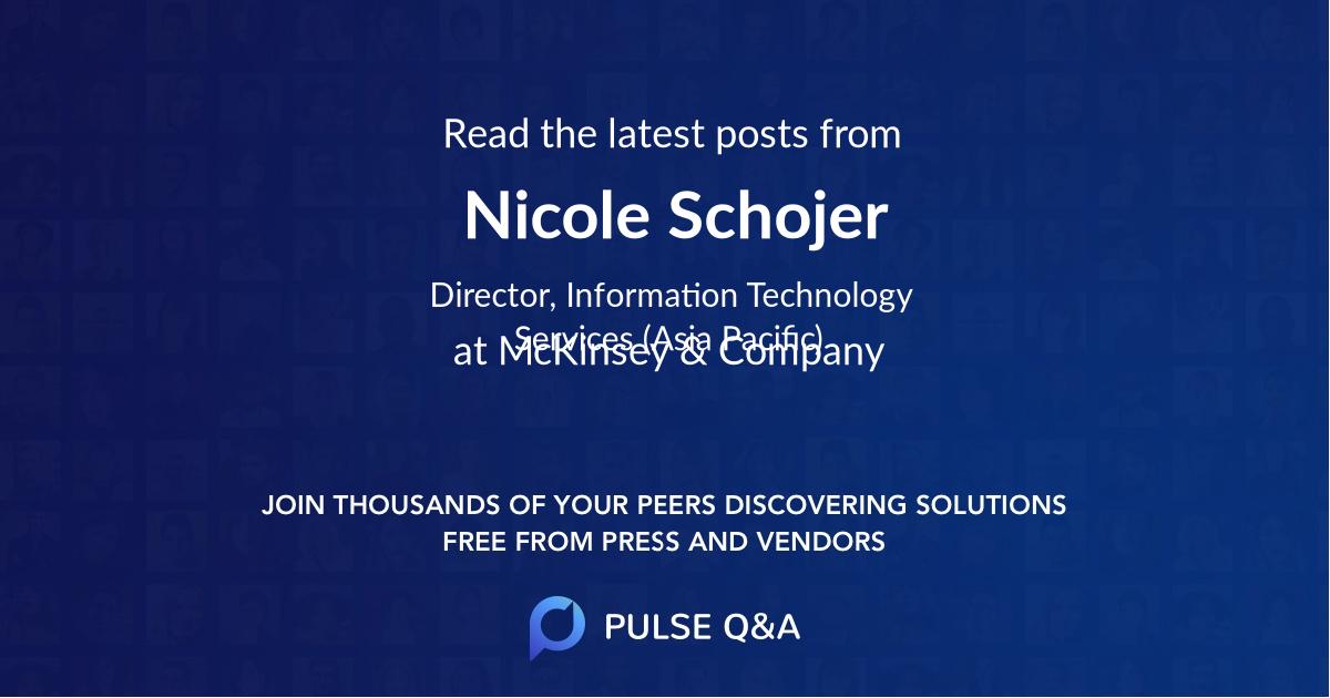 Nicole Schojer