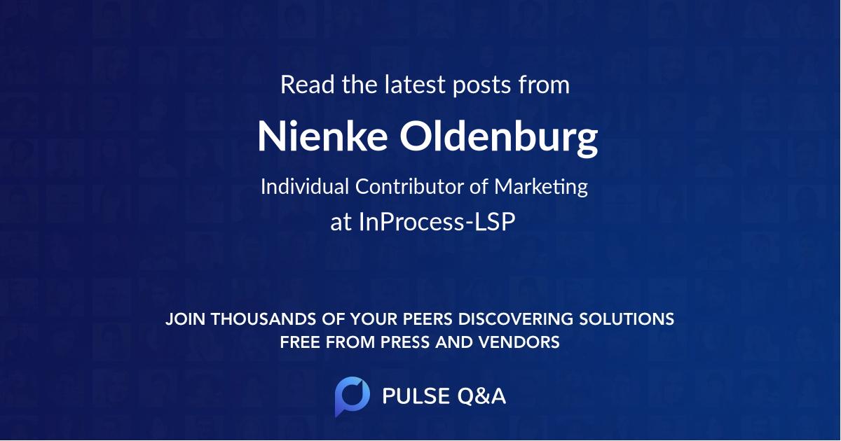 Nienke Oldenburg